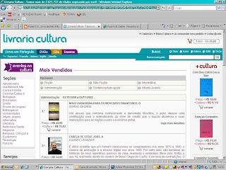 Poder S.A. está num metido que só ele! Agora também está na lista de mais vendidos de livros de administração da Livraria Cultura!