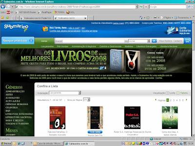 Poder S.A. está entre os melhores livros de 2008!