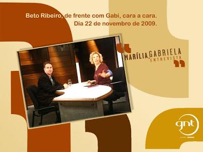 BETO RIBEIRO NO MARILIA GABRIELA ENTREVISTA!