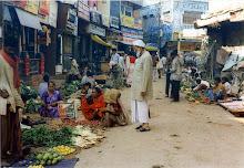 Benares market