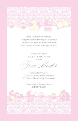 Rice designs baby shower invitations i love to custom design anything so if you are interested in my work be sure to contact me at ricecustomdesignsgmail hope this finds you all happy filmwisefo