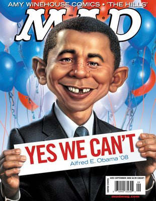 Barack Obama is the liberal Alfred E Newman
