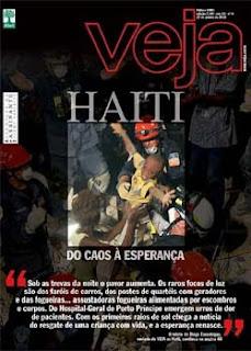 Revista Veja Haiti do Caos a Esperança