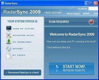 RadarSync 2009 2.0.0.3