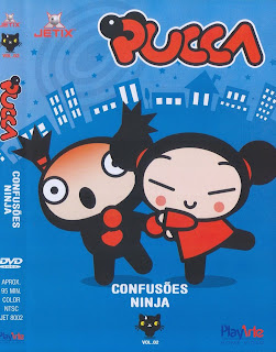 DVD Pucca Vol. 02 - Confusões Ninjas