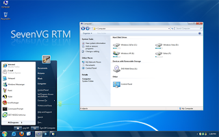 SevenVG RTM – Tema para Windows XP 1.0