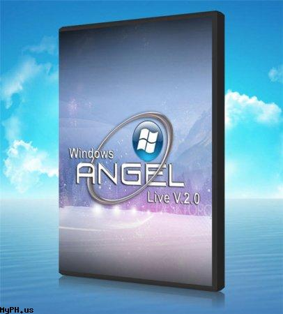 Download Windows XP SP3 Angel Live v2.0