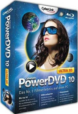 Download CyberLink PowerDVD Ultra 3D v10