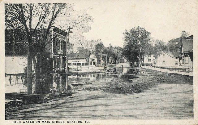 The Flood in Grafton, Illinois