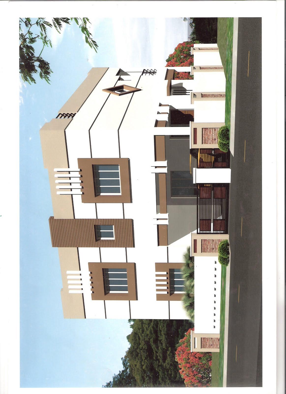 Home Plans Design Duplex House Plans In India
