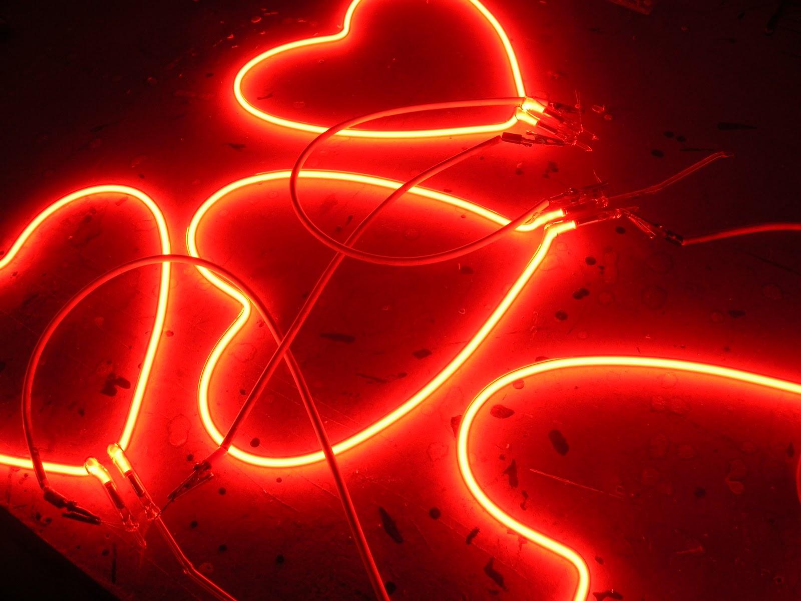 Neon Hearts Blog Neon Heart