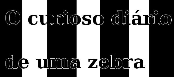 O curioso diário de uma zebra - Jogos