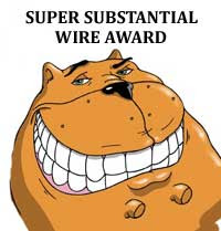 A substantial award
