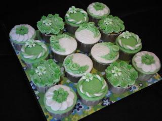 Greeny Cupcakes Set