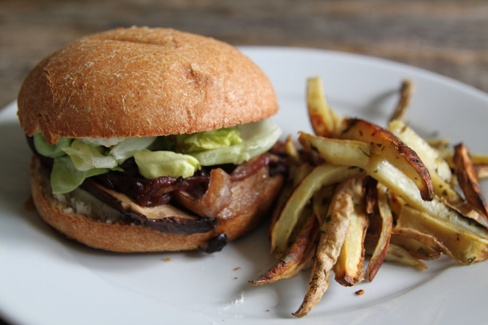 ... Kitchen: Portobello Mushroom Sandwich with Caramelized Fennel & Onion