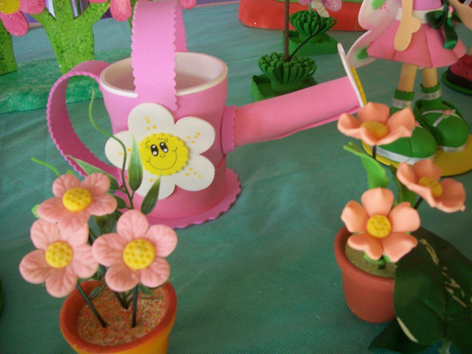 """enfeites para festa infantil jardim encantado:Festa das Cores"""": Festa Jardim Encantado"""
