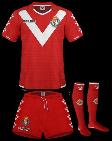 Ainara Kit Design Real Valladolid Espaa