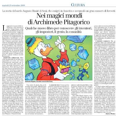 Archimede Unione Sarda