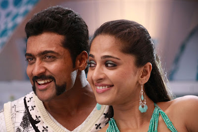 Suriya and Anushka hot singam stills