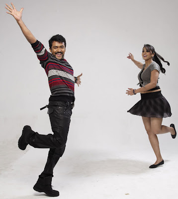 Surya and Anuska hot singam stills