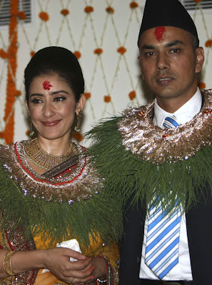 Actress Manisha Koirala wedding photos