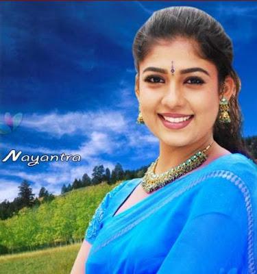 Nayanthara in sari
