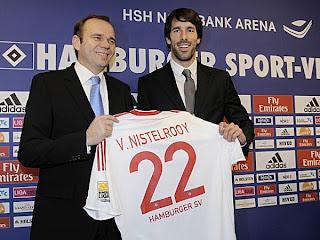 Van Nistelrooy llega al Hamburgo