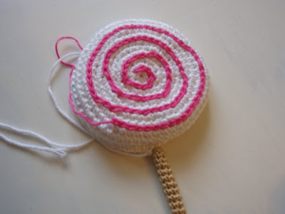 crochet lollipop pattern