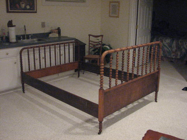 I Have An Antique Spool Bed That Is Full Size Cherry Wood