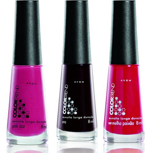 [Avon+Esmaltes+Color+Trend+Novas+Cores+Uva+Vermelho+Paixão+Pink+Star]