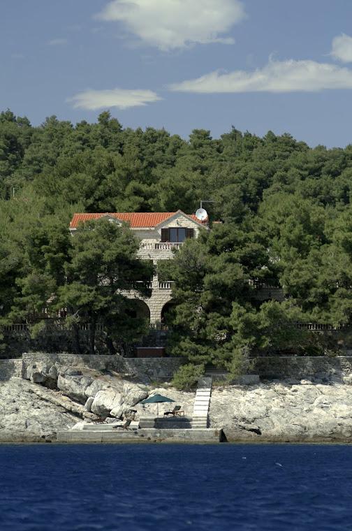 Villa Rosemarine from the sea