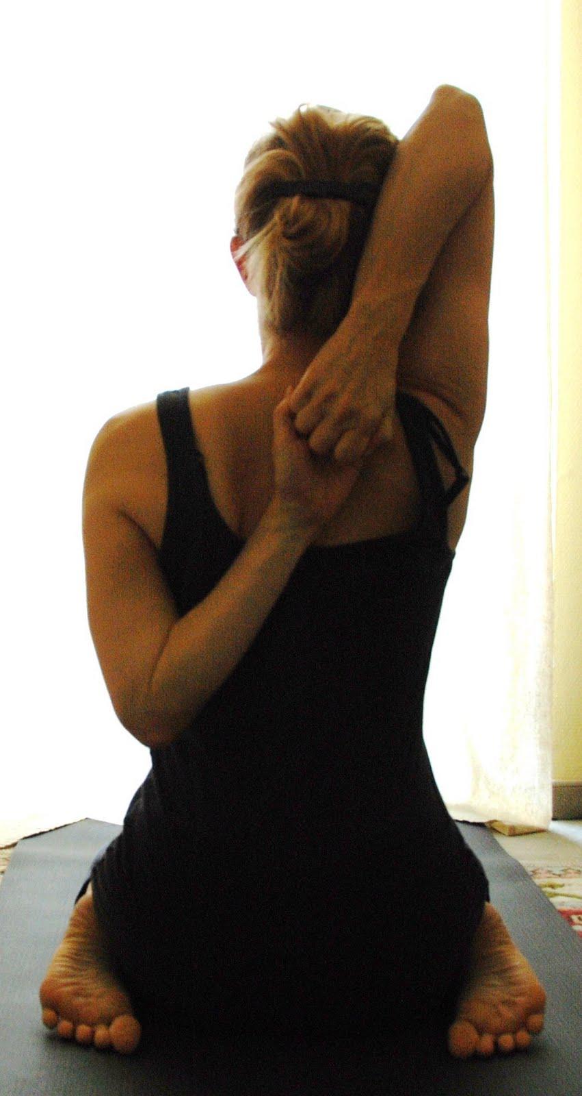 My Yoga Blog: Learning the next pose, gomukhasana