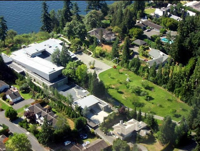 bill gates house, bill gates