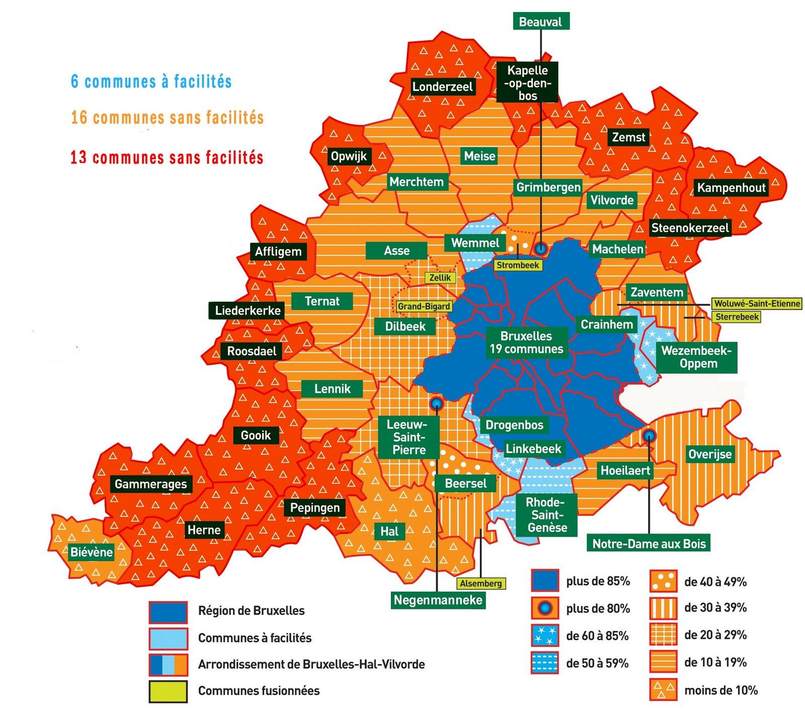 Cartes de scénarios en cas de scission de la Belgique. Carte%2BBHV%2Bcopie2