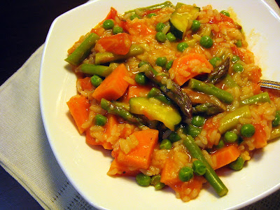 Food Tastes YummyEASY WINTER VEGETABLE RISOTTO