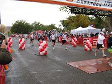 St. George Marathon Finish 2008
