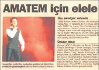 report of Tarkan's anti-drug concert in 1997