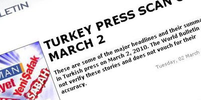 Article banner: Can we trust the Turkish press?