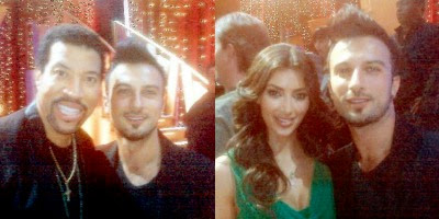 Tarkan Photographed With Singer Lionel Richie And Celebrity Kim
