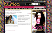 Magazine Turka reports on the show