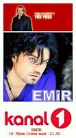 Emir on Kanal 1 show Yuz Yuze