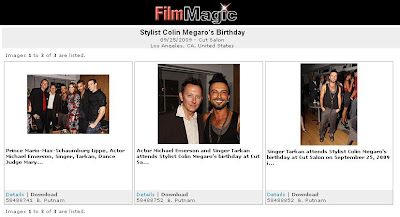 Pictures of Megaro's LA birthday bash with Tarkan attending at Life Magic