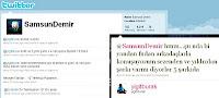 Samsun Demir tweets on Tarkan's 2010 album