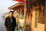 In a houseboat on Dal Lake in a winter Kashmir (2008)