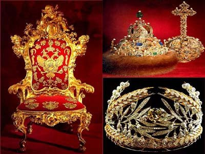 The Russia Royal Family Regalia
