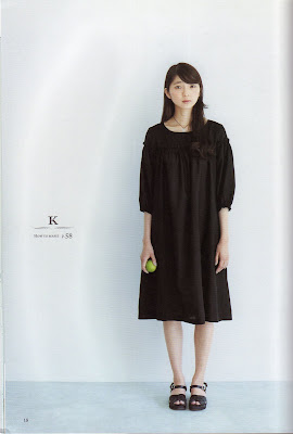 stylish dress pattern k Free Japanese Sewing Patterns