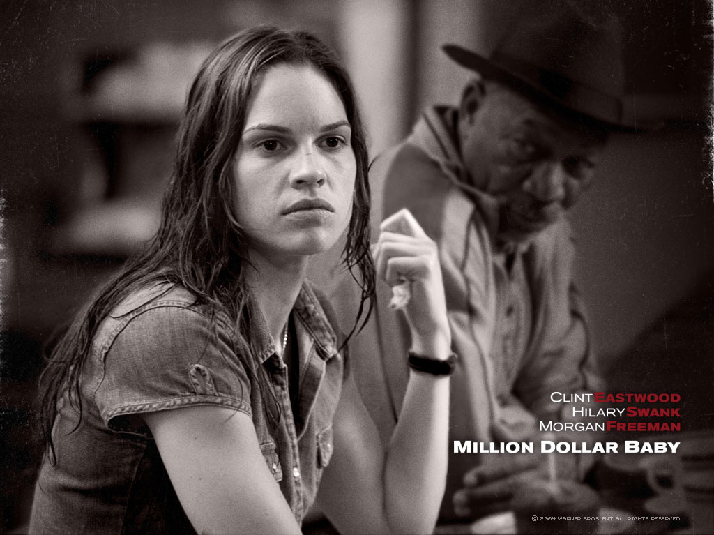 million dollar baby tragedy Million dollar baby is a 2004 american sports drama film directed, co-produced, and scored by clint eastwood, and starring eastwood, hilary swank, and morgan freeman.
