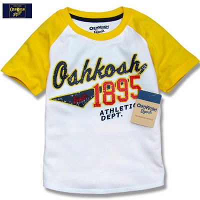 OSHKOSH SHIRT - YELLOW