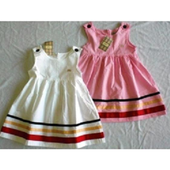 BURBERRY Dress (pink..)  cream out stok