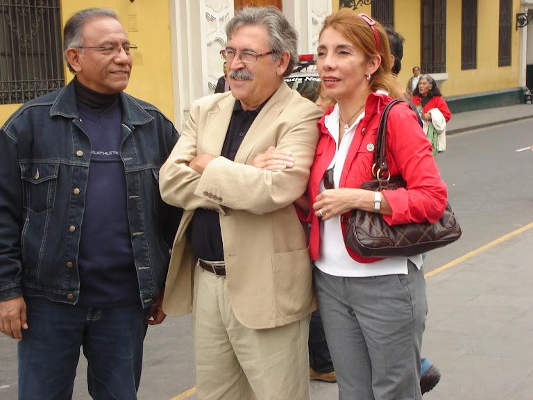 En el centro histórico de Lima